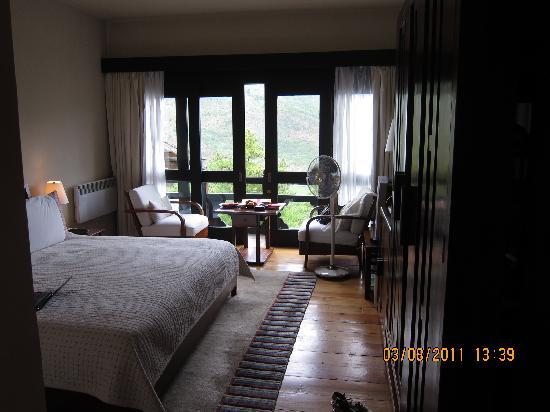 COMO Uma Paro, Bhutan: view of my room