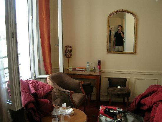 Timhotel Tour Montparnasse: la camera