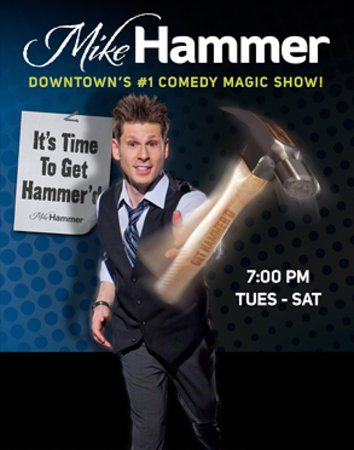 Mike Hammer - Comedy & Magic Show : Mike Hammer