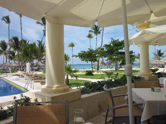 Iberostar Grand Hotel Bavaro: View from the Beach Restuarant