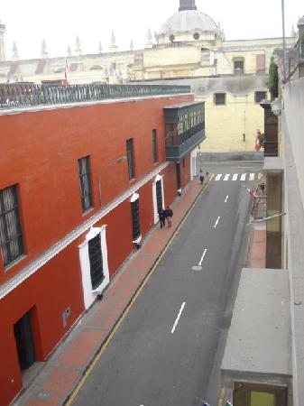 Hostal San Francisco: Street from roof