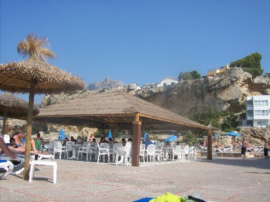 SENTIDO Don Pedro: The terrace