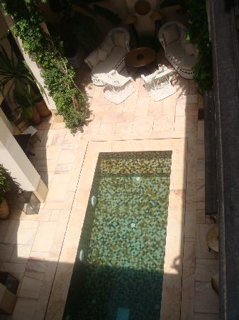 Riad Dixneuf La Ksour: Cool clean swimming pool, just what you need at the end of a shopping spree round the souks