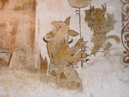 First Hotel Kinsarvik: Wall Paintings, Kinsarvik Church