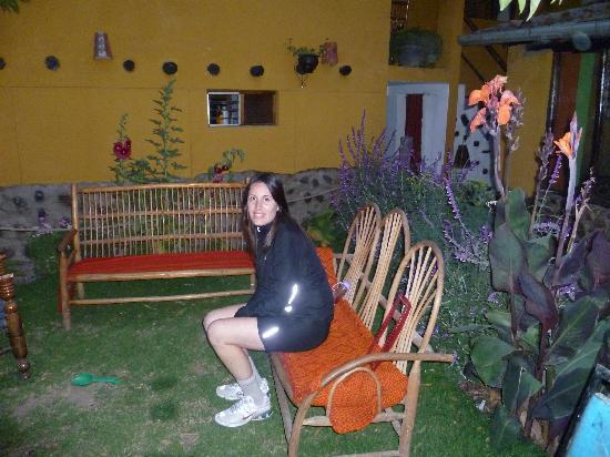 هوستل لوس أندينيس: jardin