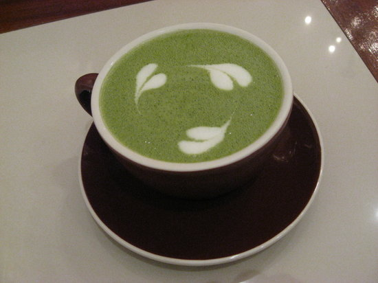 Ele : green tea latte~