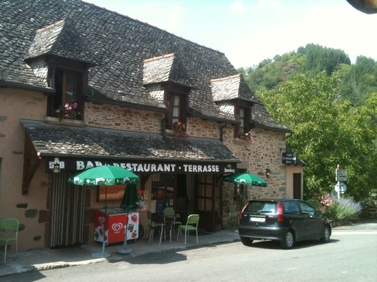 Conques, Frankrig: chez Marie