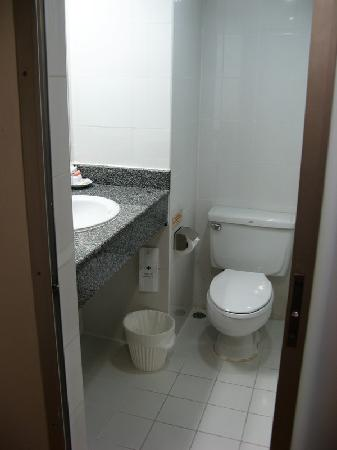 Samran Place Hotel: Bathroom in standard room