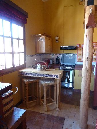 Quinua Villa Boutique: Kitchen area