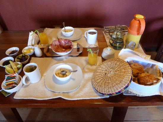 Quinua Villa Boutique: Breakfast!
