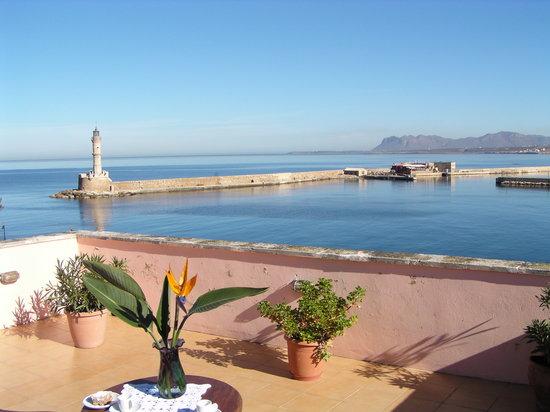 Amphora Hotel: roof garden