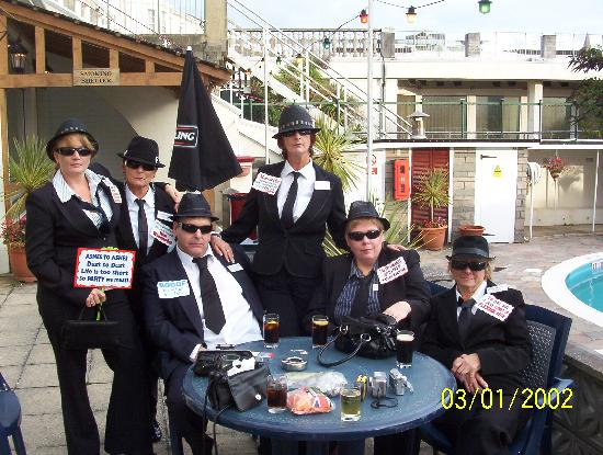 Templestowe Hotel: blues brothers