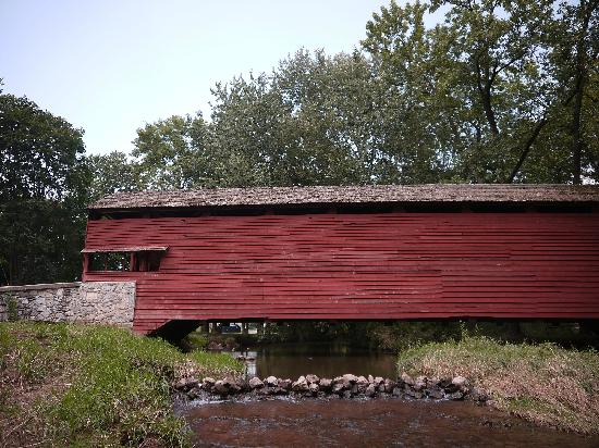 Lancaster County, PA: Manheim Park Covered Bridge
