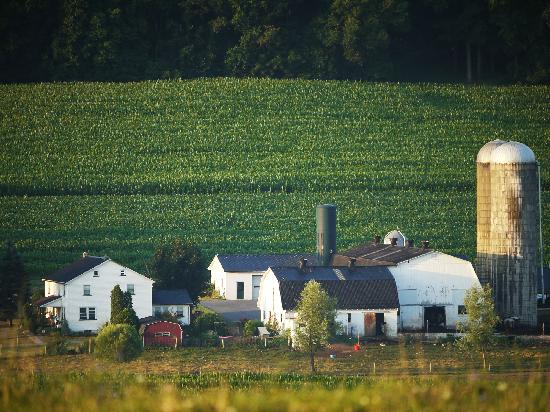 Lancaster County, Pennsylvanie : Amish Farm
