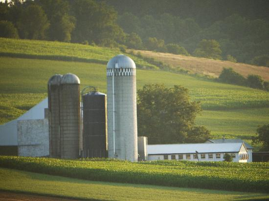 Lancaster County, Pennsylvanie : Amish Silos