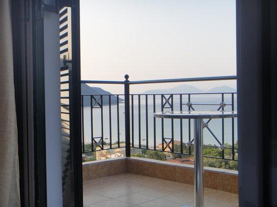 Katerina Resort: The balcony from inside.