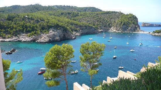 Hotel Ole Galeon Ibiza: vu chambre 712