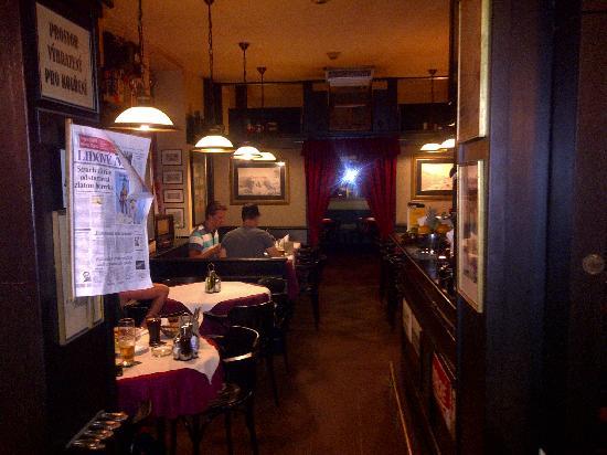 Restaurace Pod Viktorkou : First part of the Restaurant