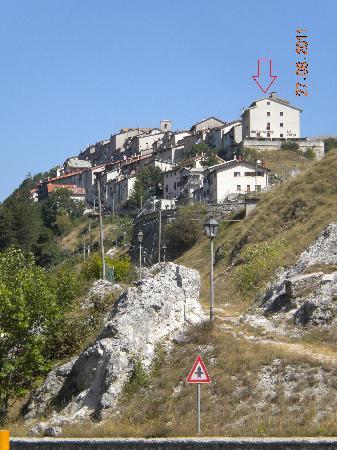 La Pieja - Hotel Ristorante: posizione albergo