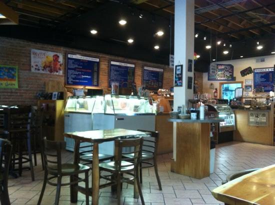 D T's Blue Ridge Java: sandwiches, ice cream, cookies, pastries