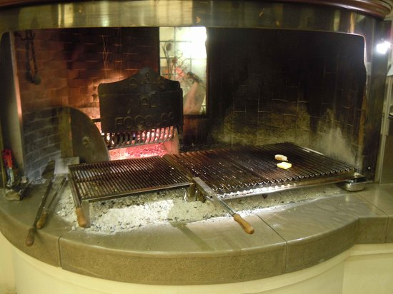 Tavagnacco, Italy: questa è la griglia per la carne
