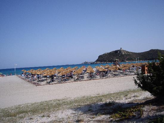 Pullman Timi Ama Sardegna: vista della spiaggia