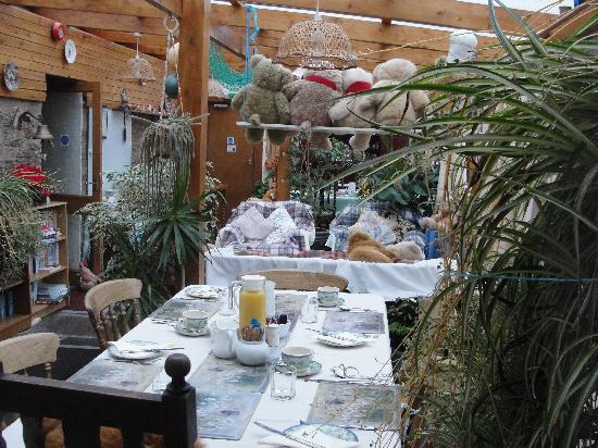 Bencorragh House: soggiorno/sala colazioni