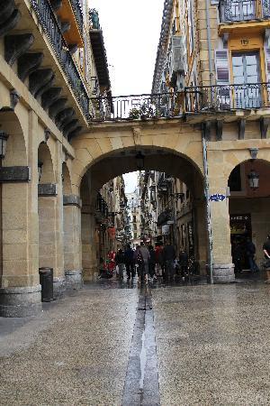 Parte Vieja street
