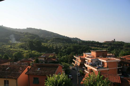 Terme di Montecatini Spa: The view from our room 2.