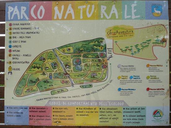 Cervia, Itália: Mappa del parco
