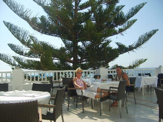 SENTIDO Aziza Beach Golf & Spa: Petit déjeuner zen en terrasse avec sa vue sur mer