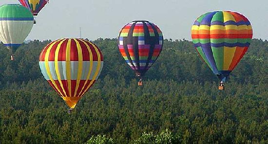 Courtyard Statesville Mooresville/Lake Norman: Enjoy the Carolina Balloonfest in Statesville
