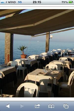 terrazza sul mare, ristorante dal moro torre canne di brindisi