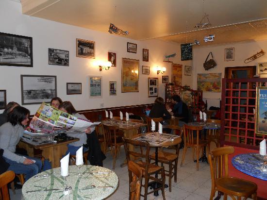 Le Crotoy, France: La salle de restaurant