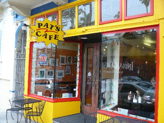 Pat's Cafe: Pat's Storefront