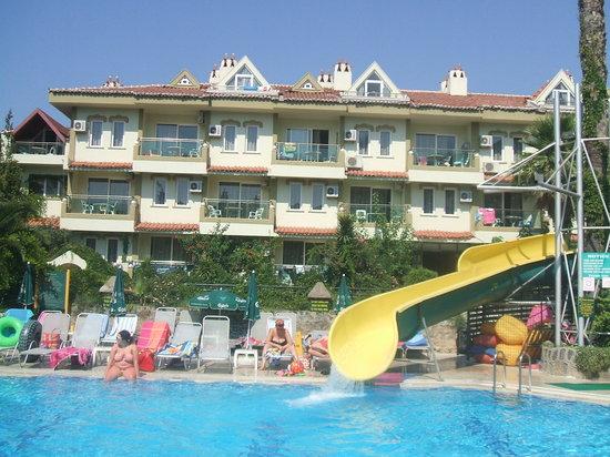 Club ilayda apart marmaris turkey hotel reviews for Corse appart hotel