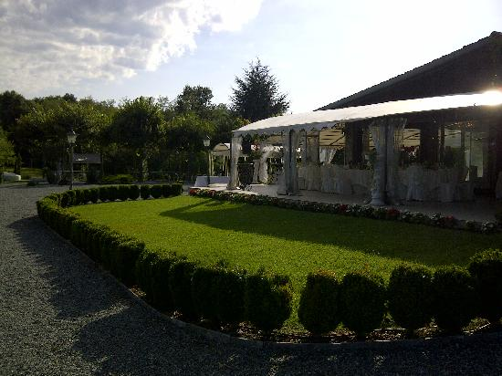 Montorfano, Italien: Tenuta S.Andrea - Patio