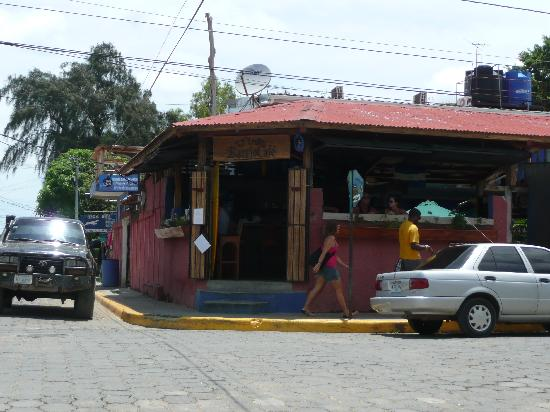 Barrio Cafe: from the outside