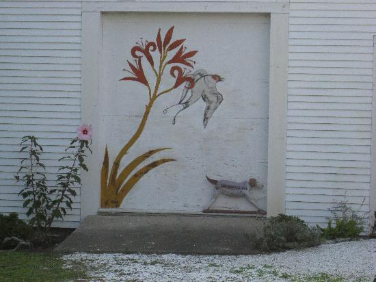 The Painted Dog: Even the doors are pretty here!