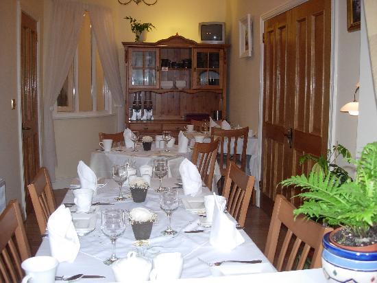 Clenahoo House: Breakfast Room