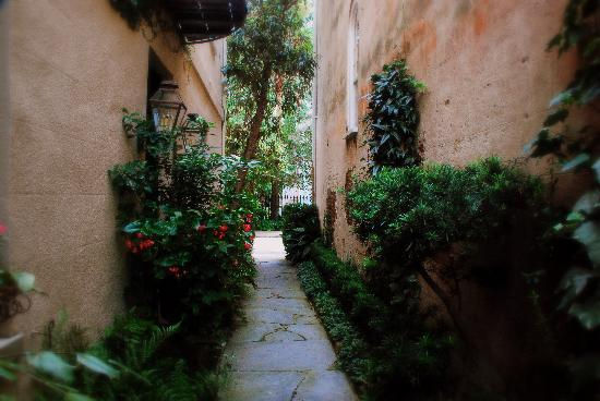 Charleston, Carolina del Sur: A path to hidden garden