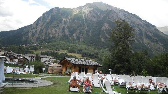 Pre-Saint-Didier, Ιταλία: piscina del suono sott'acqua