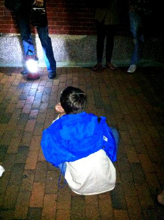 Wicked Walking Tours : Our son completely mesmerized