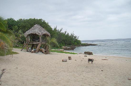 Epi Island Guesthouse : Private Beach