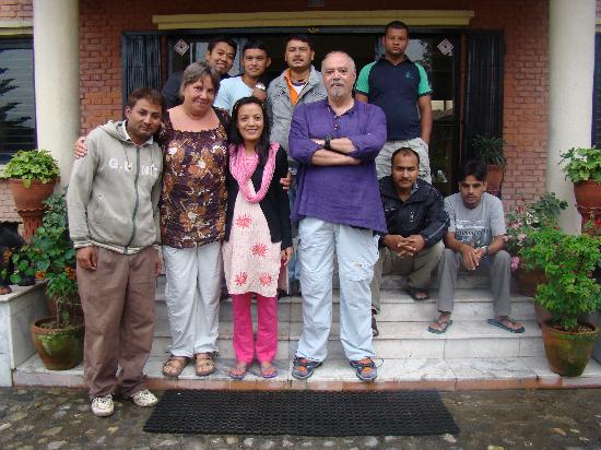 Planet Bhaktapur Hotel: Il momento della partenza