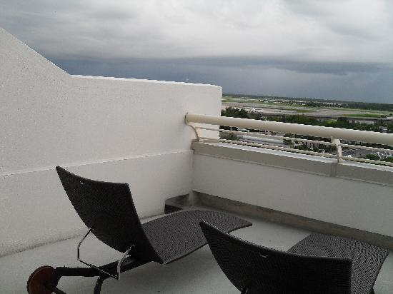 Hyatt Regency Orlando International Airport: Bedroom Patio