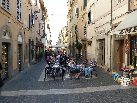 Pontifical Villas of Castel Gandolfo: Altstadt