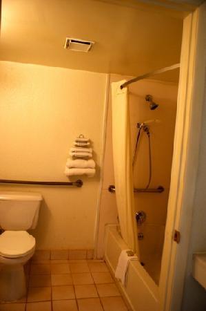 Super 8 Knoxville East: bathroom room 152