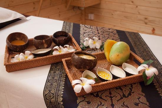 Paradiso Spa : Natural Products
