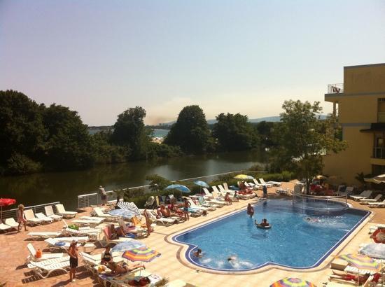 Hotel Blue Bay Park : pool area